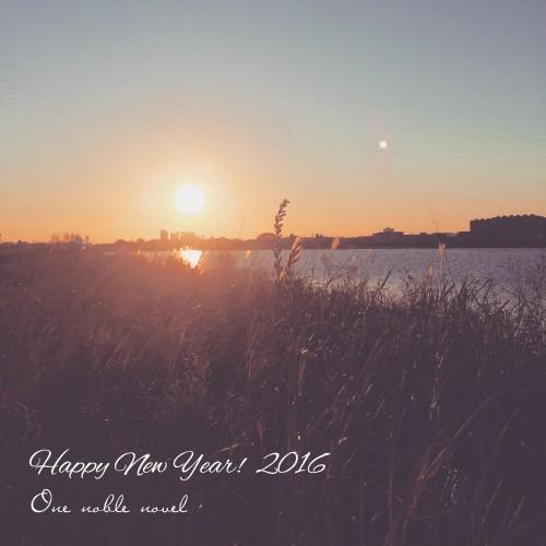 あけましておめでとうございます。2016.1.1