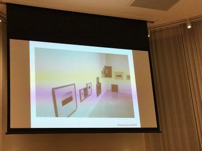 「測量 山」吉田志穂展(第11回 shiseido art egg)