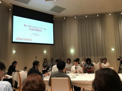 第11回 shiseido art egg 対話型審査会