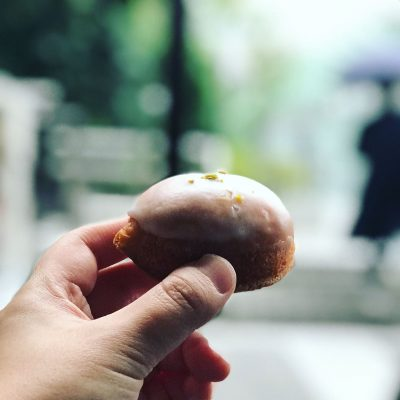 赤坂蚤の市 レモンケーキ
