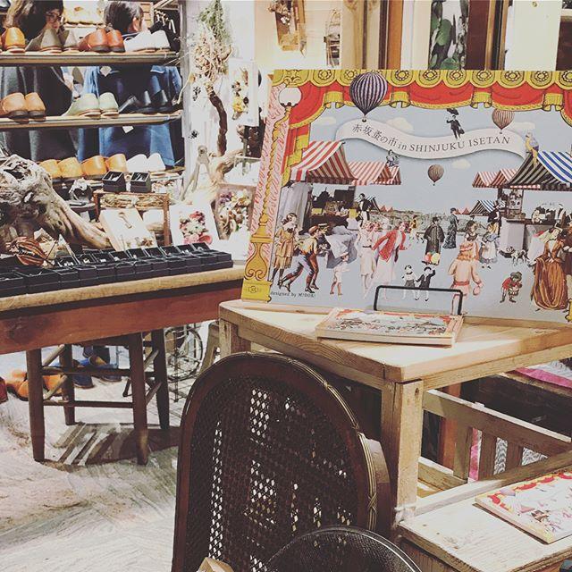 新宿伊勢丹で開催中の「赤坂蚤の市 in SHINJUKU ISETAN